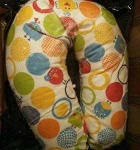 Подушка для беременных и кормления малыша .