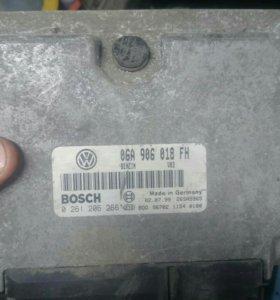 Эбу volkswagen skoda 2.0 AQY 06A 906 018 FH