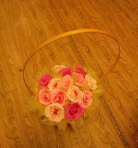 Цветы с конфетами внутри!