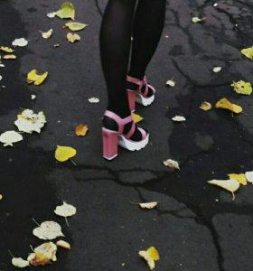 Босоножки каблуки туфли