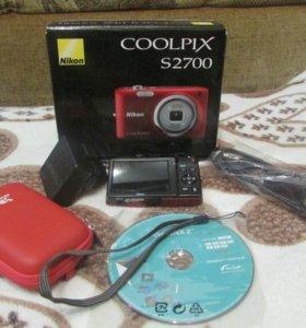 Фотоаппапат NIKON COOLPIX S2700