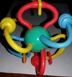 Игрушка силиконовая-прорезыватель для зубчиков