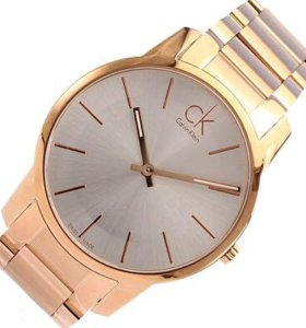 New Calvin Klein Men's Original Watch Rose Gold