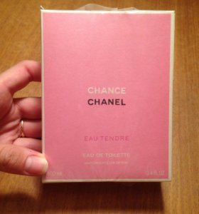 Духи Chanel chance eau tendre