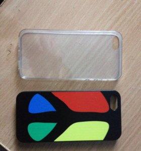 Продам два бампера на iPhone 5s
