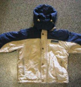 Куртка демисезонная рост 116