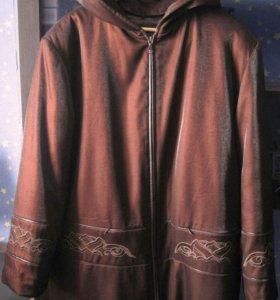Куртка демисезонная размер 58-60