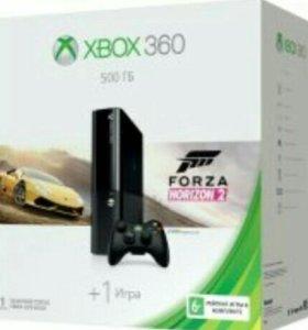 Xbox 360 (+9 игр и 2 джойстика)
