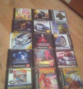 Диски для Playstation 1