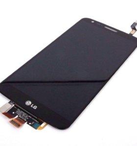 Дисплей для LG L Fino (D295) + тачскрин (черный)