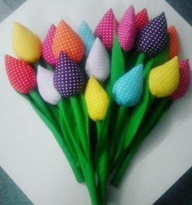 Мягкие тюльпаны