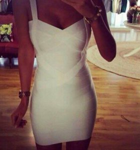 Платье бандажное