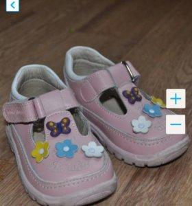Туфельки 22 размер