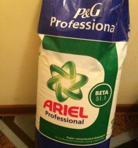 Порошок Ariel Professional очень хороший)