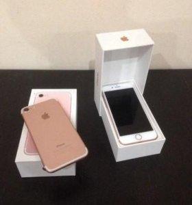 7 iPhone gold. Новый, рст, replik