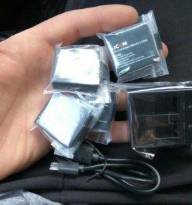 Батарейки и зарядное устройство для sjcam