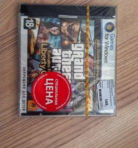 Игровой диск GTA 4 лицензионный