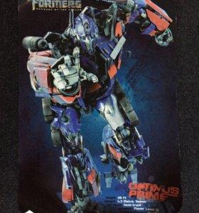 Плакат постер трансформер и абстракция 2 шт