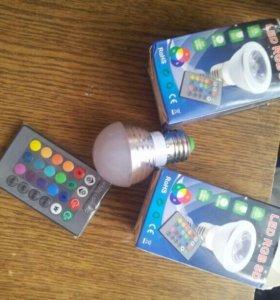 Rgb led лампы