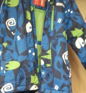 Костюм Reima(куртка ,штаны,шапка) размер 128