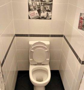 Санузел под ключ! ванная, туалет