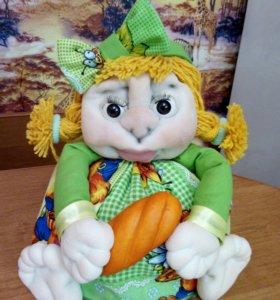 Куколка грелочка на заварник .Заказ для Алены!!!