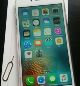 iPhone 6 silver 16гб