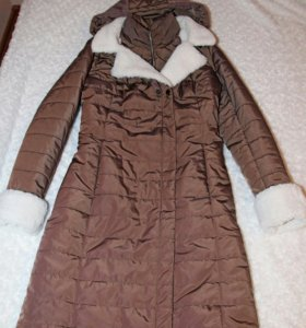 Новое зимнее пальто 46 размера