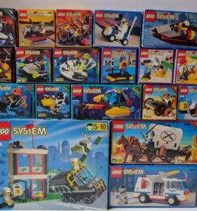 Lego System. Раритетные наборы 90х. All included