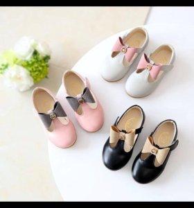 Туфельки для маленьких модниц на заказ