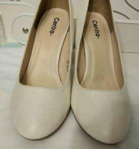 Туфли 👠 белые