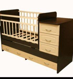 Детская кровать-тронсформер