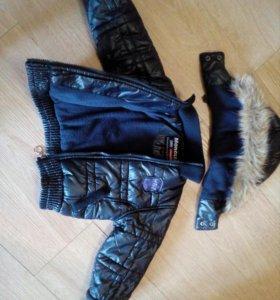 Куртка на раннюю весну на 1год