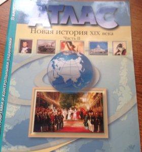 """Атлас """" Новая история XIX века"""