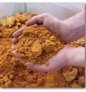 Горный песок с доставкой КАМАЗ.