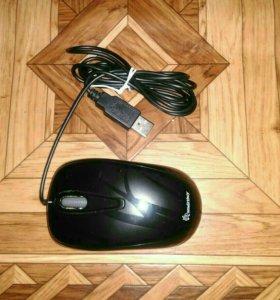 Проводная компьютерная оптическая мышь