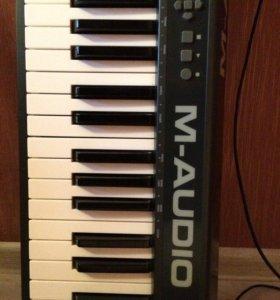 M-Audio Keystation 61 II (миди клавиатура)