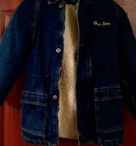 Куртка джинсовая с подстежкой