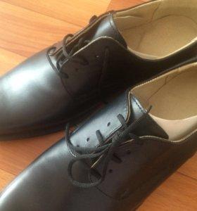 Натур.кожа Ботинки мужские новые