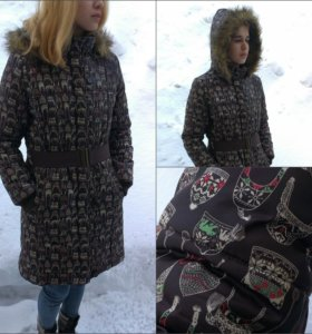 Пуховик зимняя женская куртка