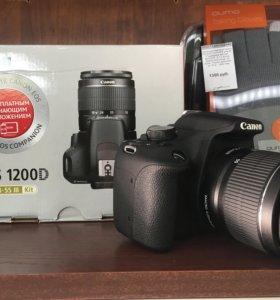 Зеркальный фотоаппарат Canon EOS 1200D + 18-55 DC