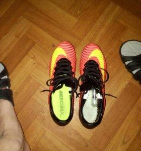 Бутсы Nike Mercurial 41 размер