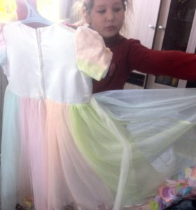 Платье для девочки 6-8 лет