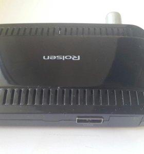 DVB-T2 приставка тюнер с USB.