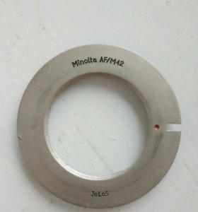 Переходник М42/Sony A