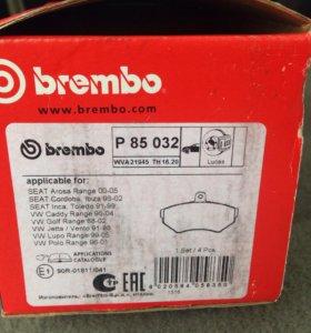 НОВЫЕ колодки BREMBO P85032