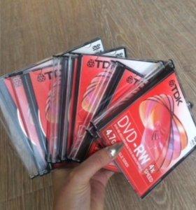 9шт дисков DVD-R 4.7Gb