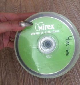 18шт Диск DVD-RW Mirex 4.7 GB Cakebox