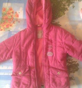 Детская курточка на девочку