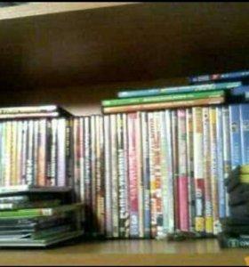 DVD диски разных жанров